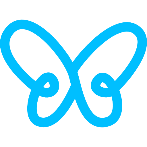 butterfly-simple-gross-outline-shape-from-top-view