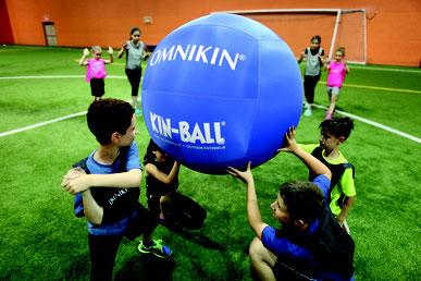 ballon-omnikin-de-kinball-pour-l-extérieur-ballon-omnikin-bleu-solide-et-pas-cher-ballon-de-kin-ball-solide-extérieur