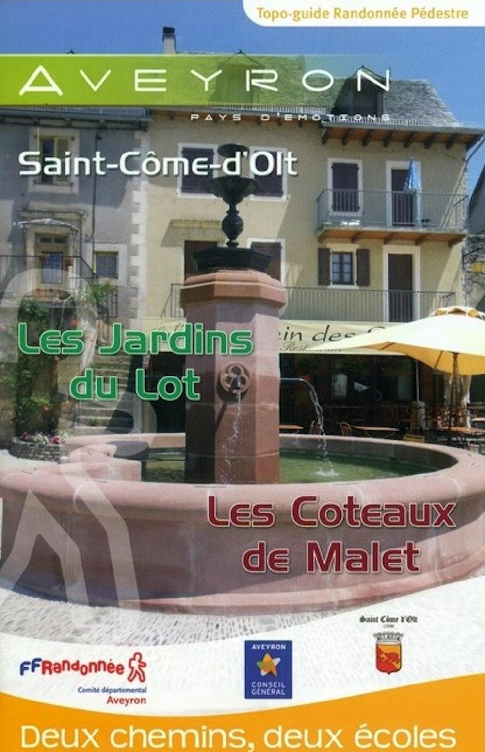 Circuit vers Saint Come d'Olt