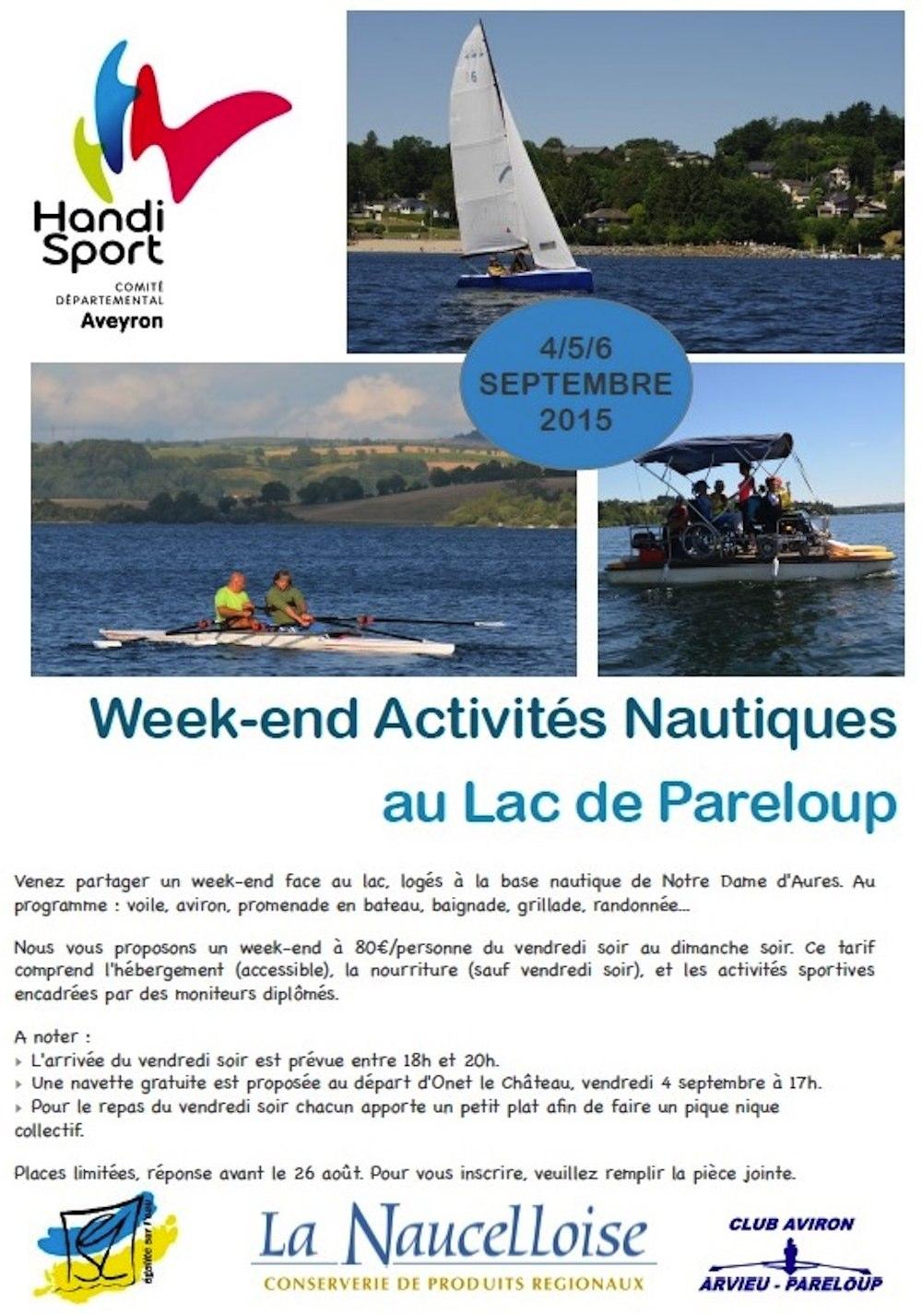 Weekend Activités Nautiques