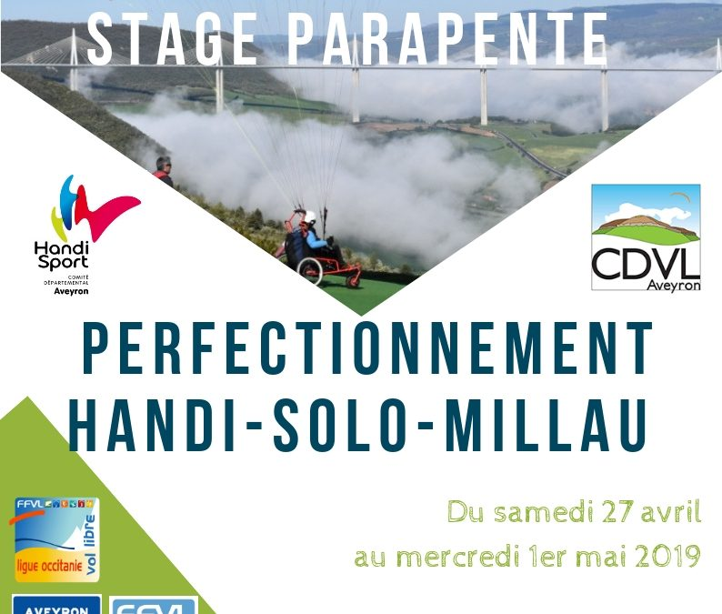 Stage Parapente : Perfectionnement