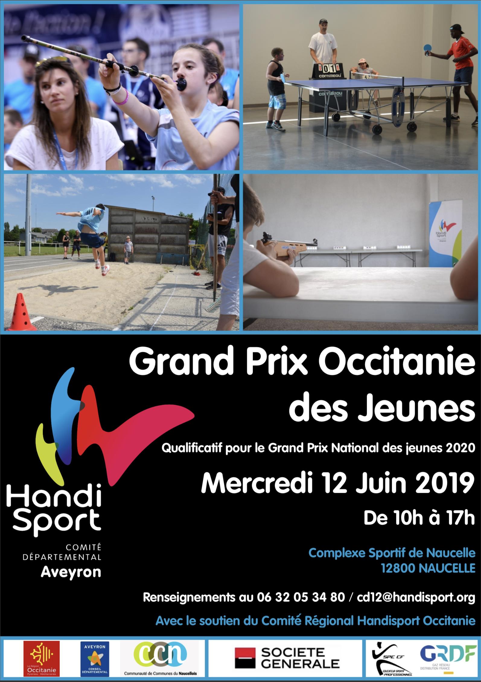 2019_Affiche Grand Prix Occitanie