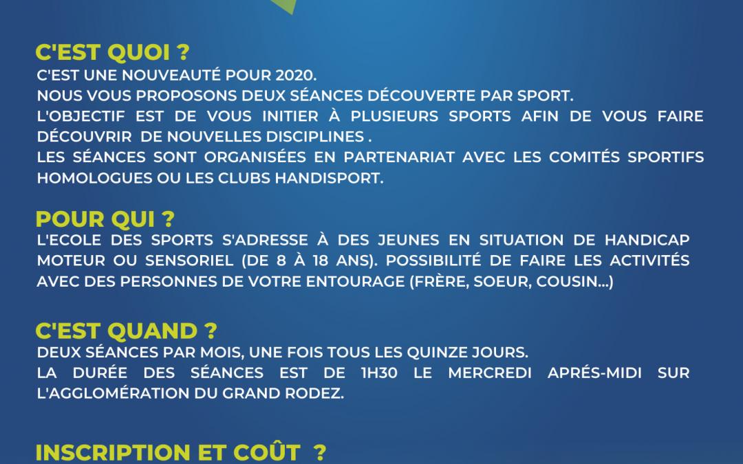 École des Sports Handisport