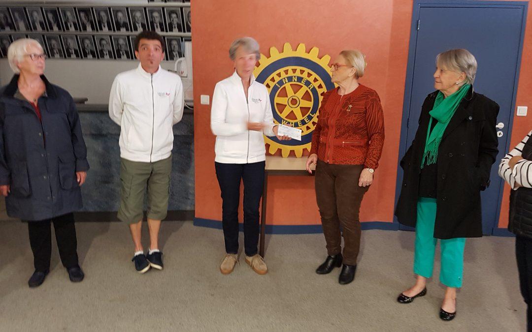 Inner Wheel Rodez : Un partenariat, plusieurs actions