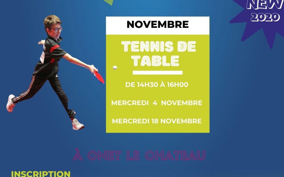 École des Sports _Tennis de Table